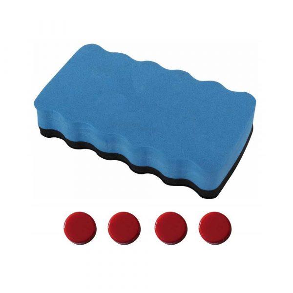 flipchart 4 alibiuro.pl Flipchart mobilny OFFICE PRODUCTS 70x100cm tablica suchoś. magn. aluminiowa rama z wyciąganymi ramionami 25