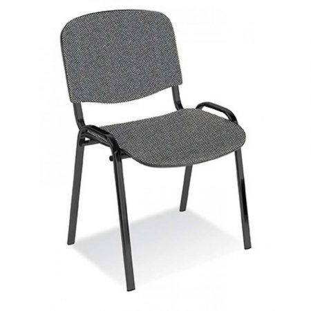 fotel obrotowy 4 alibiuro.pl Krzesło konferencyjne OFFICE PRODUCTS Kos Premium szare 2
