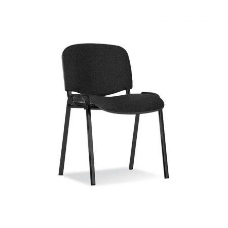 fotele biurowe 4 alibiuro.pl Krzesło konferencyjne OFFICE PRODUCTS Kos Premium czarne 36