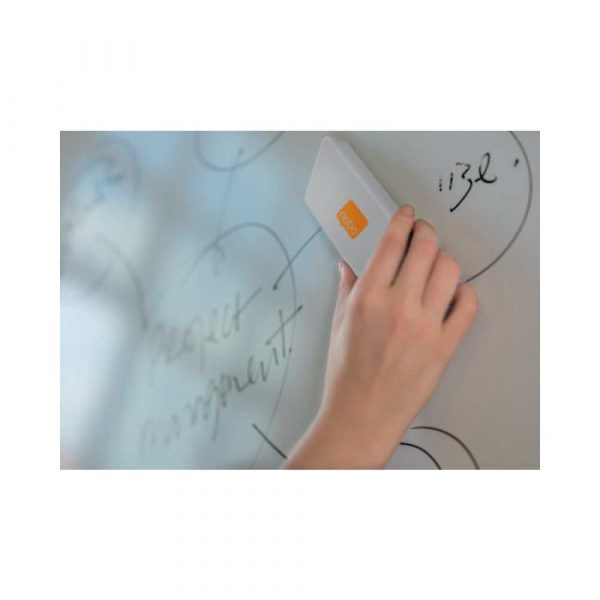 gąbka do tablic magnetycznych 4 alibiuro.pl Gąbka do tablicy NOBO magnetyczna z wymiennym wkładem biała 37