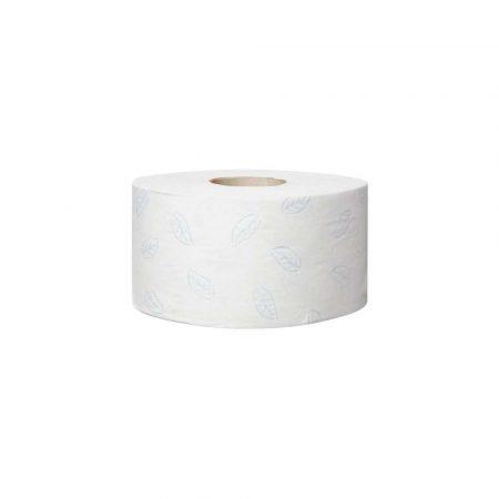 gąbki 1 alibiuro.pl Papier toaletowy Mini Jumbo roll T2 2 warstwowy biały karton 12szt. 110253 TORK 80