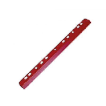grzbiet wsuwany 4 alibiuro.pl Listwa zaciskająca DONAU PVC A4 6mm do 60 kartek z europerforacją czerwona 94