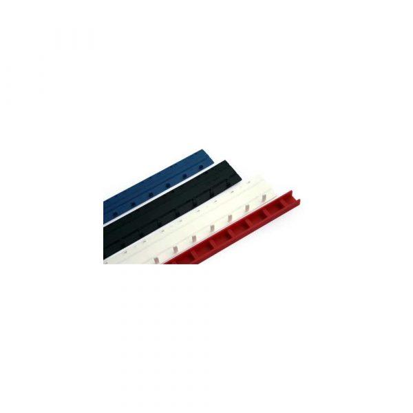 grzbiety plastikowe 1 alibiuro.pl Listwy zatrzaskowe greenbinder 15mm 1szt czerwone 97