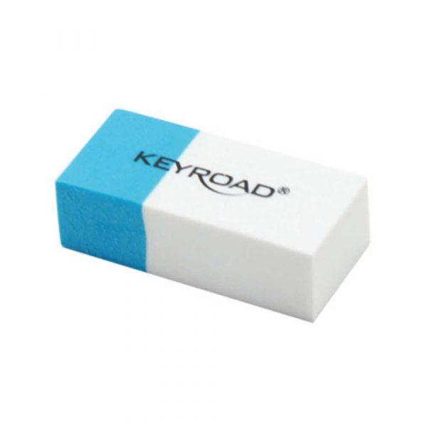 gumka 4 alibiuro.pl Gumka wielofunkcyjna KEYROAD pakowane na displayu niebiesko biała 42
