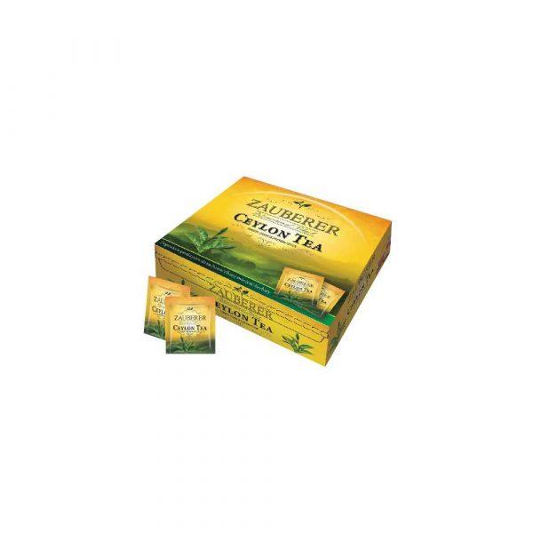 herbata ekspresowa 1 alibiuro.pl Herbata czarna Ceylon w kopertach 100 szt. ZAUBERER Belin 26