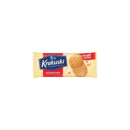 herbatniki 1 alibiuro.pl Ciastka deserowe z cukrem 200g Krakuski 47