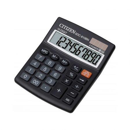 kalkulator biurowy 4 alibiuro.pl Kalkulator biurowy CITIZEN SDC 810BN 10 cyfrowy 124x102mm czarny 24