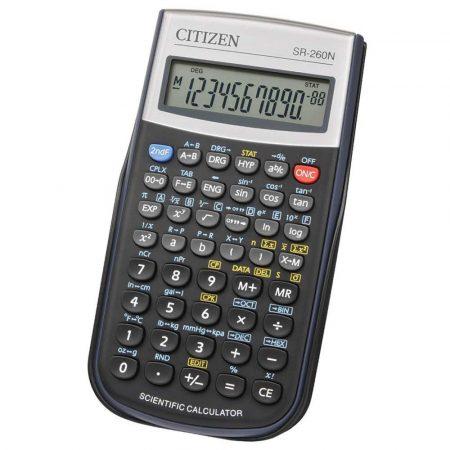 kalkulator naukowy wielofunkcyjny 4 alibiuro.pl Kalkulator naukowy CITIZEN SR 260N 10 cyfrowy 154x80mm etui czarny 62