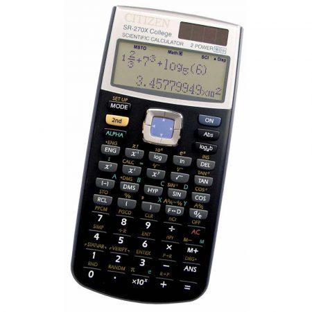 kalkulator naukowy wielofunkcyjny 4 alibiuro.pl Kalkulator naukowy CITIZEN SR 270XCFS 10 2 cyfrowy 164x84mm czarny 26