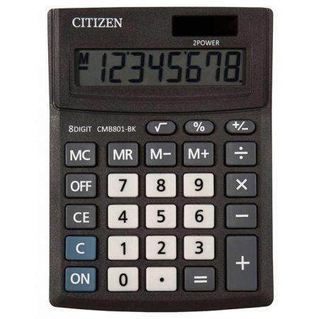 kalkulatory biurowe 4 alibiuro.pl Kalkulator biurowy CITIZEN CMB801 BK Business Line 8 cyfrowy 137x102mm czarny 93