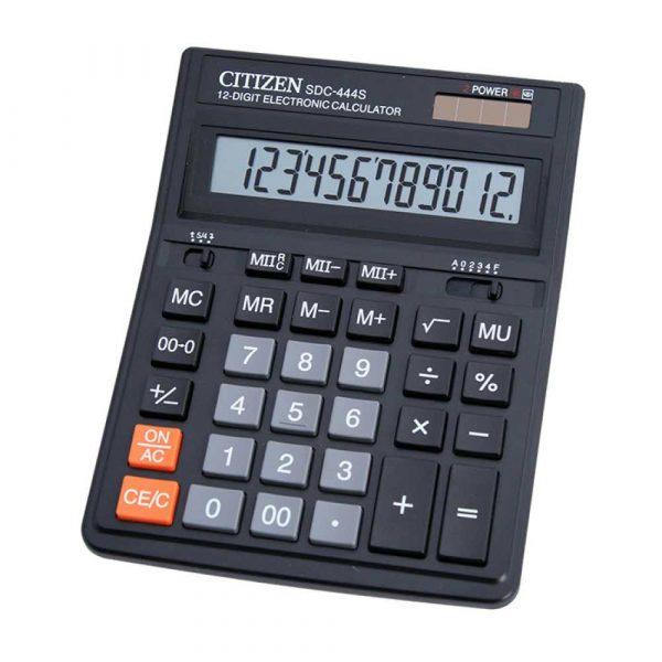 kalkulatory biurowe 4 alibiuro.pl Kalkulator biurowy CITIZEN SDC 444S 12 cyfrowy 199x153mm czarny 68