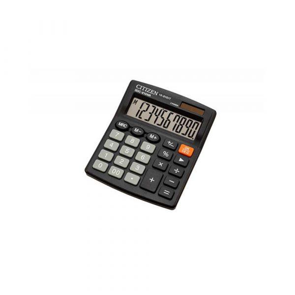 kalkulatory biurowe 4 alibiuro.pl Kalkulator biurowy CITIZEN SDC 810NR 10 cyfrowy 127x105mm czarny 67