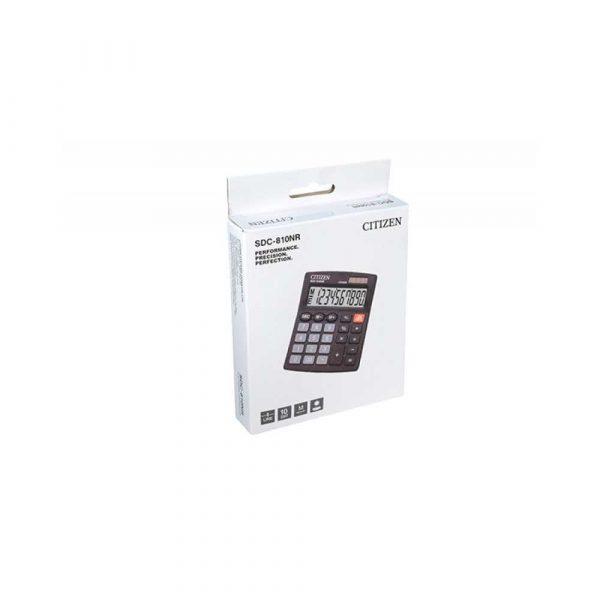 kalkulatory biurowe 4 alibiuro.pl Kalkulator biurowy CITIZEN SDC 810NR 10 cyfrowy 127x105mm czarny 80