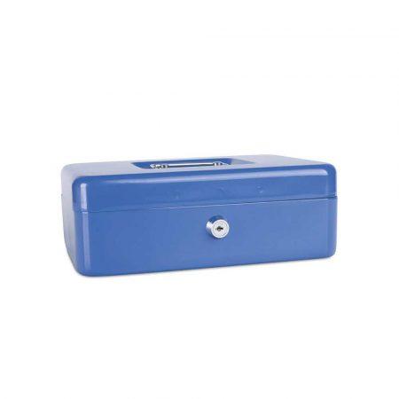 kasetka na pieniądze 4 alibiuro.pl Kasetka na pieniądze DONAU duża 250x90x180mm niebieska 17
