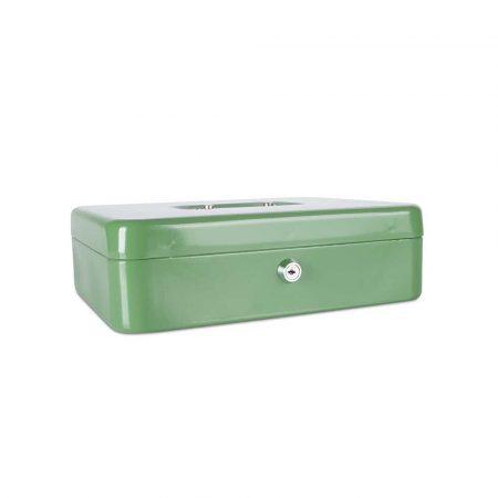 kasetka na pieniądze 4 alibiuro.pl Kasetka na pieniądze DONAU ekstra duża 300x90x240mm zielona 69