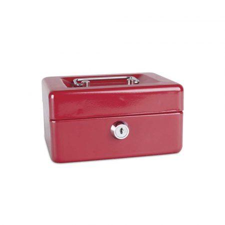 kasetka na pieniądze 4 alibiuro.pl Kasetka na pieniądze DONAU mała 152x80x115mm czerwona 48