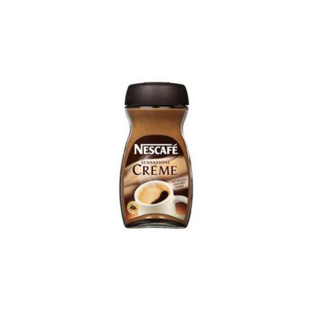 kawa rozpuszczalna 1 alibiuro.pl Kawa Nescafe Creme Sensazione 200g rozpuszczalna 1