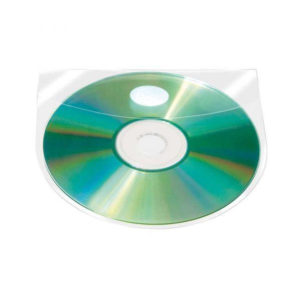 kieszeń samoprzylepna 4 alibiuro.pl Kieszeń samoprzylepna Q CONNECT na 2 4 płyty CD DVD 127x127mm 10szt. 71