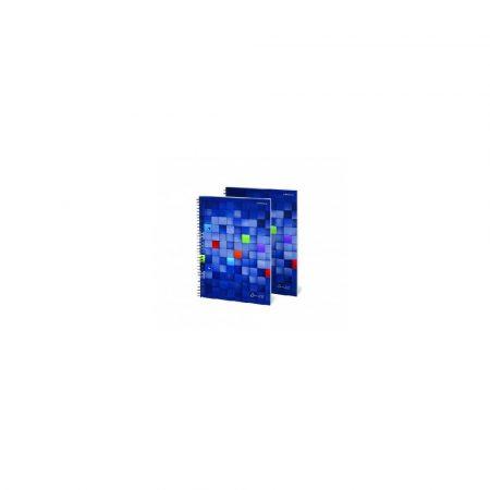 kołozeszyt 1 alibiuro.pl A5 80 kartek kołonotatnik spirala bok OFFICE TOP 2000 77
