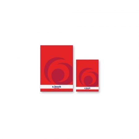 kołozeszyty 1 alibiuro.pl A5 50 kartek blok klejony w kratkę X BOOK notatnik 9930116 Herlitz 16