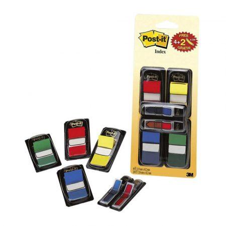 kolorowe karteczki 4 alibiuro.pl Zestaw promocyjny POST IT 680 VAD5EU PP 25x43mm 12x43mm 4x50 2x24 kart. mix kolorów 44