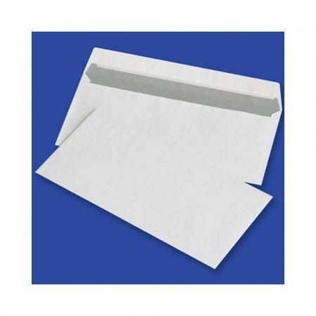 koperta powietrzna 4 alibiuro.pl Koperty z taśmą silikonową OFFICE PRODUCTS HK DL 110x220mm 80gsm 1000szt. białe 89