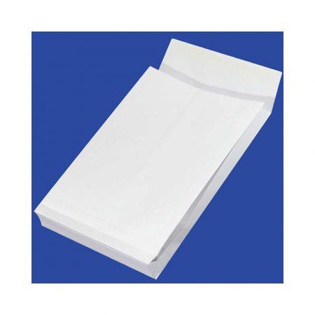 koperta z oknem 4 alibiuro.pl Koperty RBD z taśmą silikonową OFFICE PRODUCTS HK B4 250x353mm 150gsm 250szt. białe 45
