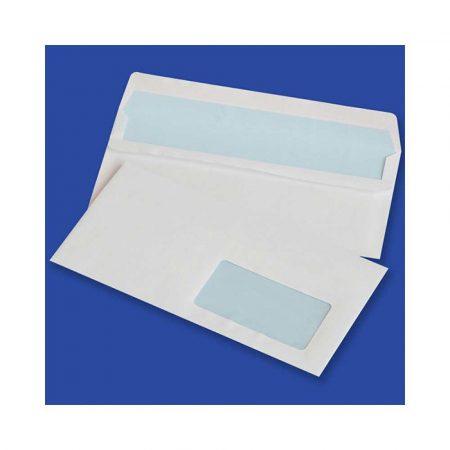 koperty bąbelkowe 4 alibiuro.pl Koperty samoklejące OFFICE PRODUCTS SK DL 110x220mm 75gsm 1000szt. z okienkiem prawym 45x90mm białe 17
