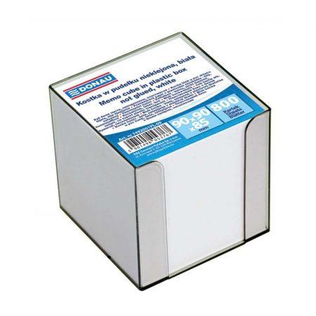 kostka klejona 4 alibiuro.pl Kostka DONAU nieklejona w pudełku 95x95x95mm ok. 800 kart. biała 49