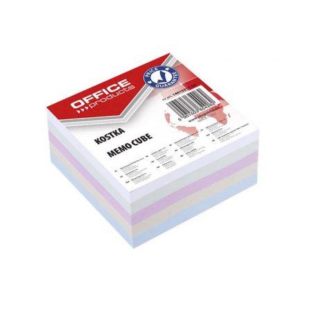 kostka papierowa 4 alibiuro.pl Kostka OFFICE PRODUCTS nieklejona 85x85x40mm mix kolorów 27