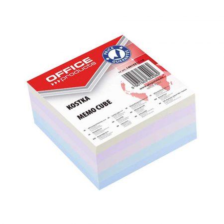 kostki papierowe 4 alibiuro.pl Kostka OFFICE PRODUCTS klejona 85x85x40mm mix kolorów 24