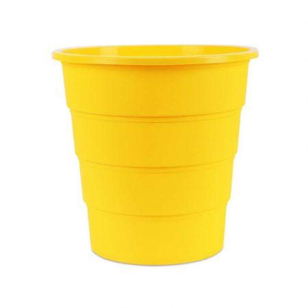kosz na śmieci 4 alibiuro.pl Kosz na śmieci OFFICE PRODUCTS pełny 16l żółty 50
