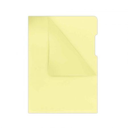 koszulki groszkowe 4 alibiuro.pl Obwoluta DONAU typu L PP A4 krystal 180mikr. żółta 2
