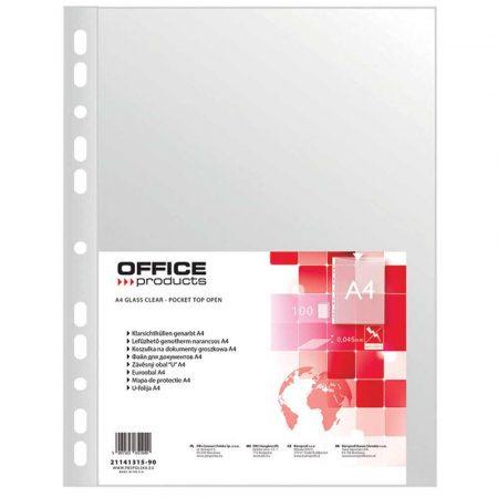 koszulki krystaliczne 4 alibiuro.pl Koszulki na dokumenty OFFICE PRODUCTS PP A4 groszkowe 45mikr. 100szt. 34
