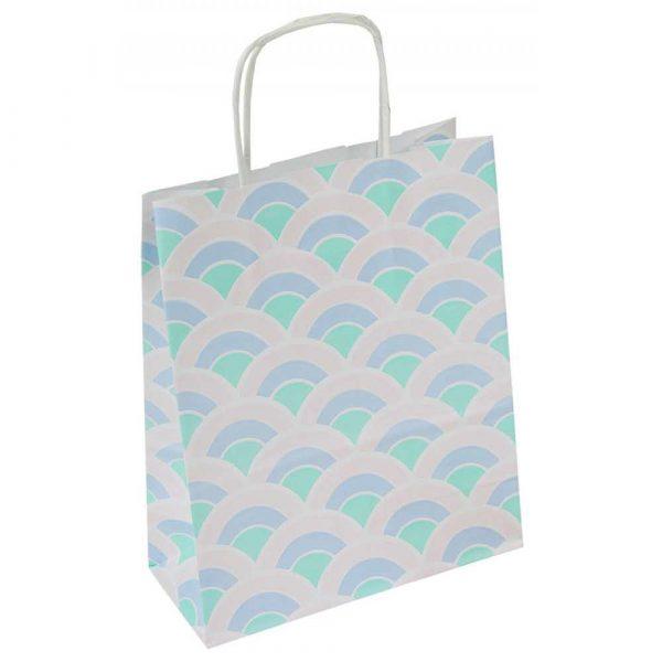 kreatywne 4 alibiuro.pl Torebka na prezenty OFFICE PRODUCTS papierowa 18x8x22 5cm jednolita pastelowa mix wzorów 20