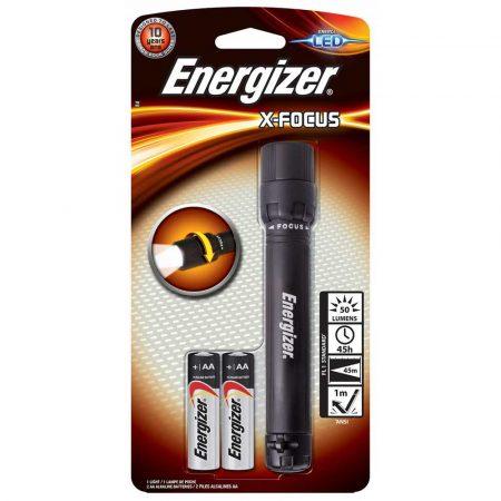 lampa na biurko 4 alibiuro.pl Latarka ENERGIZER X Focus 2szt. baterii AA czarna 67