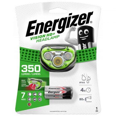 lampa na biurko 4 alibiuro.pl Latarka czołowa ENERGIZER Vision HD Plus Headlight 3szt. baterii AAA czarna 26