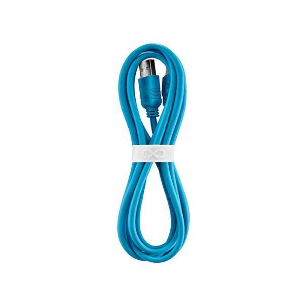 listwa przeciwpięciowa 4 alibiuro.pl Uniwersalny kabel USB 2.0 do USB C EXC Whippy 2m niebieski 75