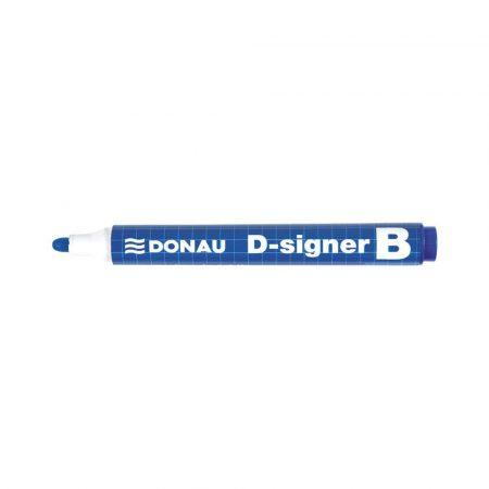 marker do tablic 4 alibiuro.pl Marker do tablic DONAU D Signer B okrągły 2 4mm linia niebieski 75