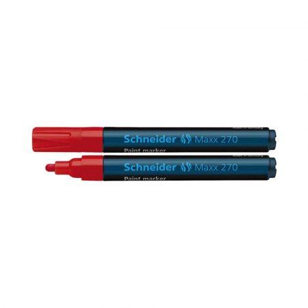 marker lakierowy 4 alibiuro.pl Marker olejowy SCHNEIDER Maxx 270 okrągły 1 3mm czerwony 2