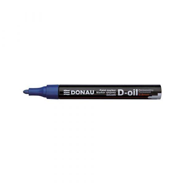 marker olejowy 4 alibiuro.pl Marker olejowy DONAU D Oil okrągły 2 8mm niebieski 86