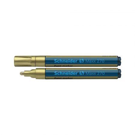 marker olejowy 4 alibiuro.pl Marker olejowy SCHNEIDER Maxx 270 okrągły 1 3mm złoty 19