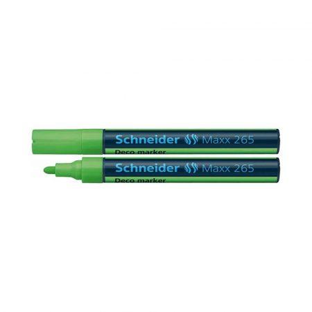 markery kredowe 4 alibiuro.pl Marker kredowy SCHNEIDER Maxx 265 Deco okrągły 2 3mm jasnozielony 0