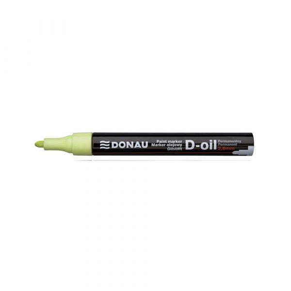 markery olejowe 4 alibiuro.pl Marker olejowy DONAU D Oil okrągły 2 8mm żółty 85