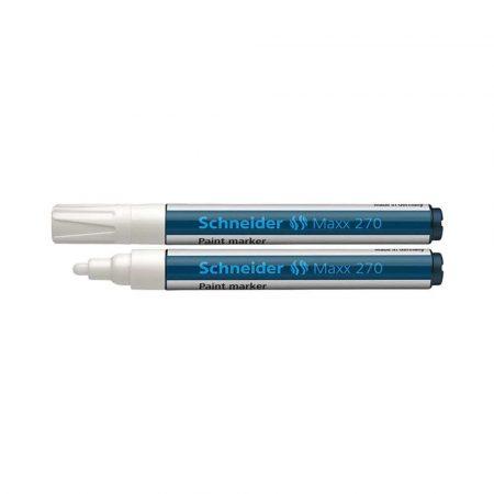 markery olejowe 4 alibiuro.pl Marker olejowy SCHNEIDER Maxx 270 okrągły 1 3mm biały 26