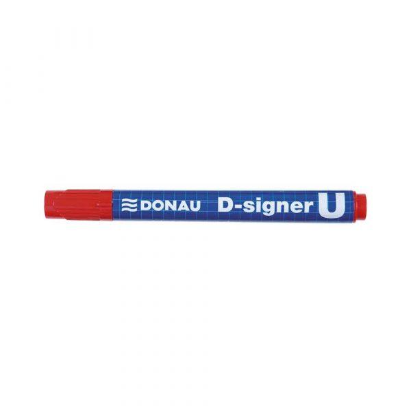 markery permanentne 4 alibiuro.pl Marker permanentny DONAU D Signer U okrągły 2 4mm linia czerwony 13