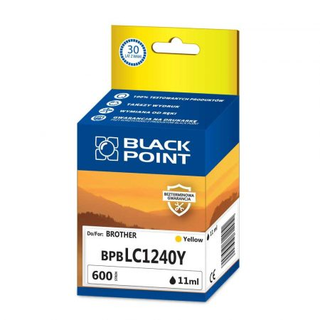 materiały eksploatacyjne 3 alibiuro.pl BPBLC1240Y Ink Tusz BP Bro BlackPoint BPBLC1240Y SGBLC1240BKY 22