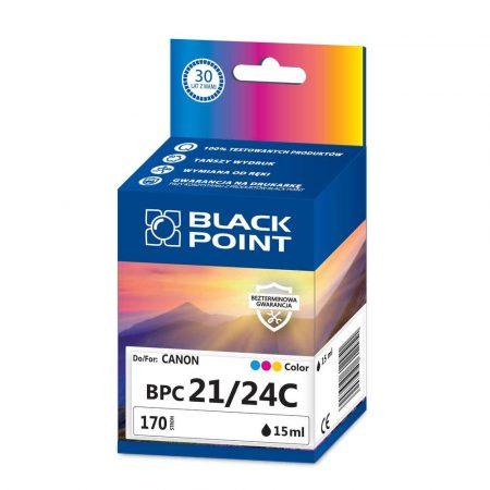 materiały eksploatacyjne 3 alibiuro.pl BPC24C Ink Tusz BP Canon BCI 24C BlackPoint BPC21 24C SGCBC24BKK 26