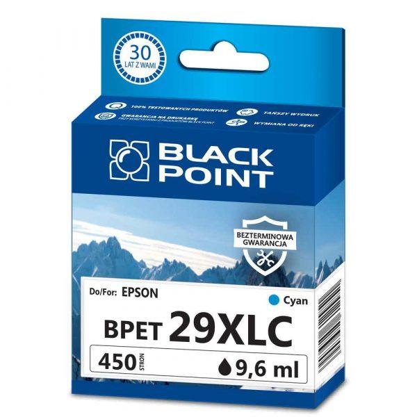 materiały eksploatacyjne 3 alibiuro.pl BPET29XLC Ink Tusz BP Epson C13T29924012 BlackPoint BPET29XLC SGE29BKC 96