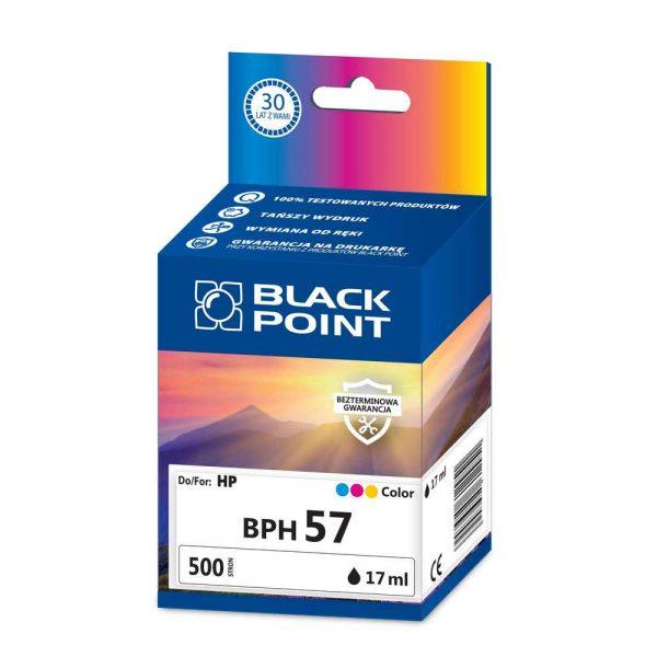 materiały eksploatacyjne 3 alibiuro.pl BPH57 Ink Tusz BP HP BLIS BlackPoint BPH57 SGH0057BGBW 31